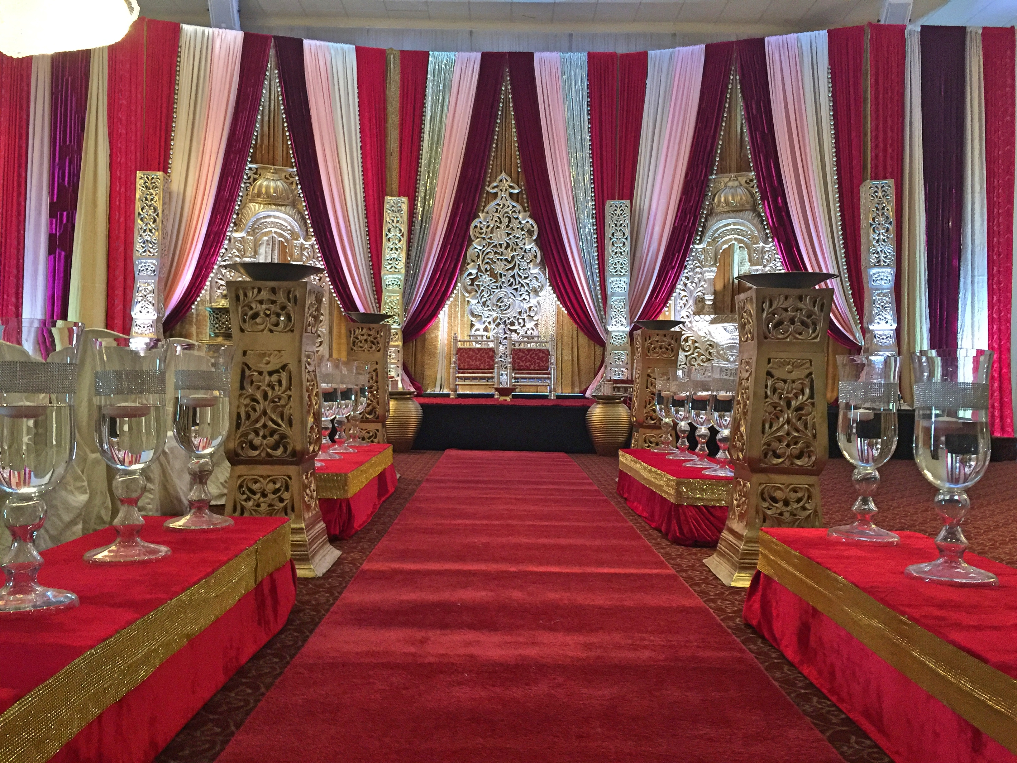 Mandap Decor, Hindu Wedding decor, Indian Wedding decor, wedding ceremony ideas