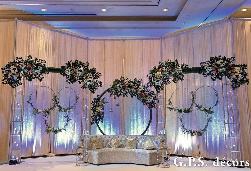 Shawn Saveras Unique Wedding Reception Gps Decors